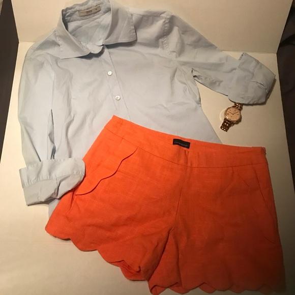 3bd87f12c21 PRADA light blue button down blouse. M 5ae784e845b30c871b51d1c8